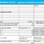 Marina suites Nha Trang timeline