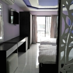 Studio apartment with 2 beds for rent in Tourist area ID A357