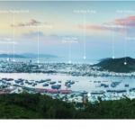 Nha Trang haborizon panorama view