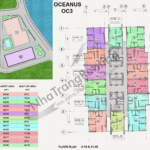 Nha Trang Oceanus OC3 floor plan