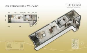 1-bed Suite B 96m2