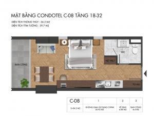 Virgo Nha Trang  18-32 condotel unit