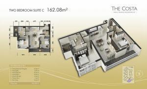 2-bed Suite C 160m2
