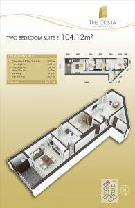 2-bed Suite E 104m2