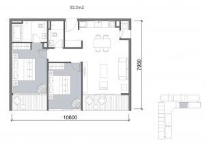 2bedroom-82m2