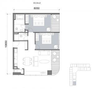 2bedroom-84m2