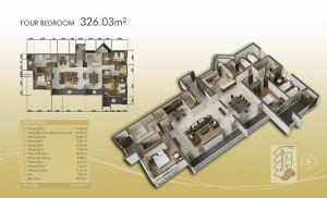 4-bed 326m2