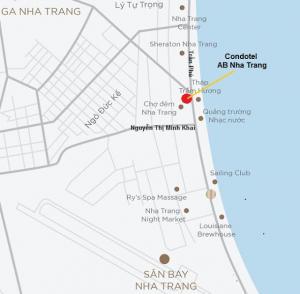 AB Central Square Nha Trang map