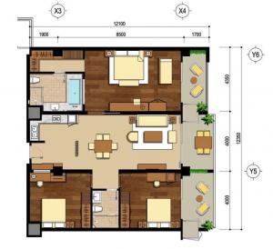 Ariyana 3bedroom
