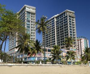 Nha Trang Center from beach