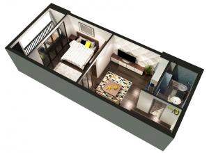 Stellar 1-bedroom