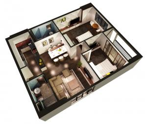 Stellar 2b-bedroom