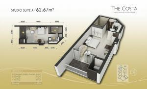 Studio Site A 63m2