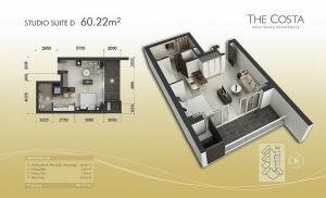 Studio Site D 60,22m2